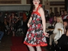 Modelling at the Donne De Belleza Fashion Show. Clothes by Silver's Dress Design. Photo by Beth Collins.