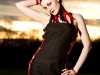 Modelling for My Little Halo Alternative Clothing. Photo by Paul Wright.