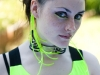 Modelling for Freak Chic Accessories. Photo by Paul Wright