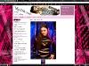Screenshot from www.mylittlehalo.co.uk. Modelling My Little Halo Alternative Clothing. Photo by Paul Wright.